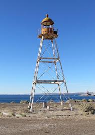 Ancien phare de Golfo Nuevo (Argentine)