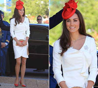 Kate Middleton, Canada, Duchess of Cambridge, Diana, Reiss dress