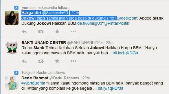 Slank Dikecam Dukung Jokowi Naikkan BBM