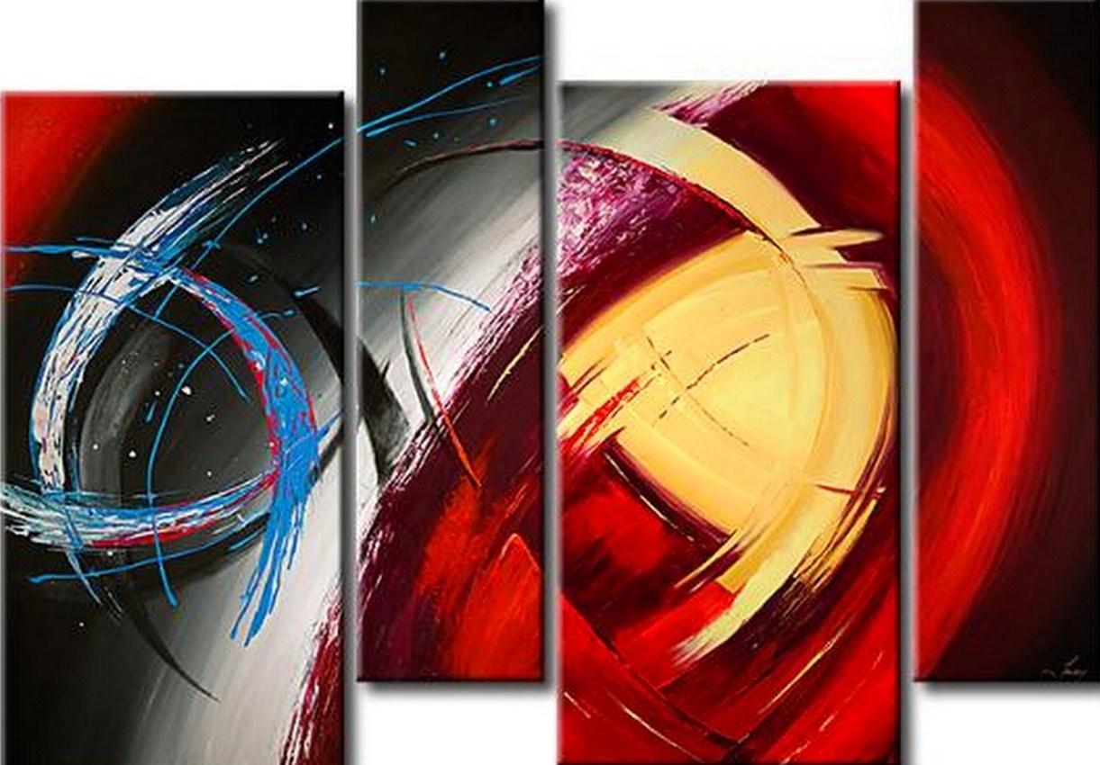 Pintura moderna y fotograf a art stica cuadros modernos Cuadros rectangulares modernos