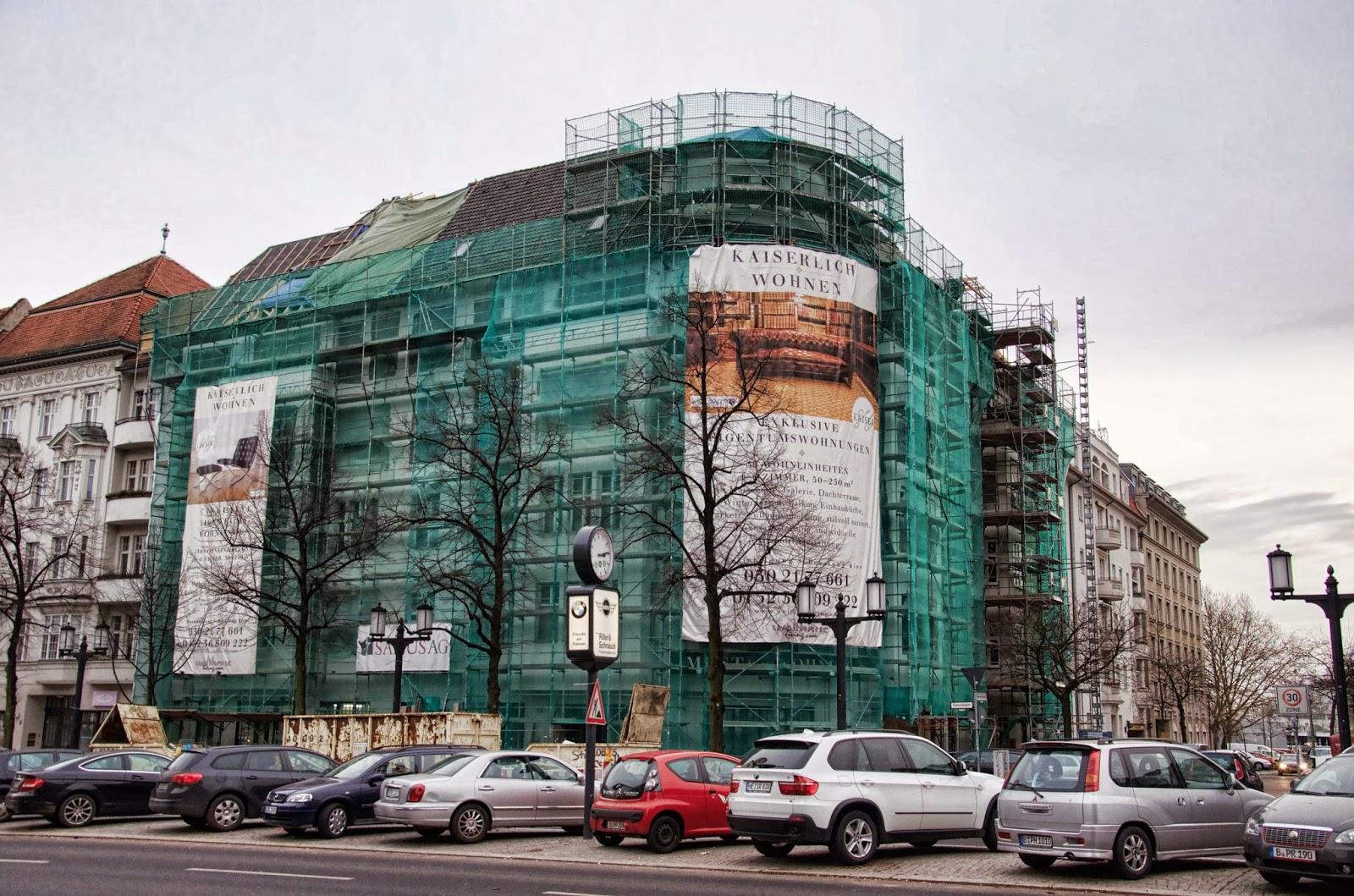 Berliner Baustellen 0211 Baustelle Kaiserdamm Exklusive