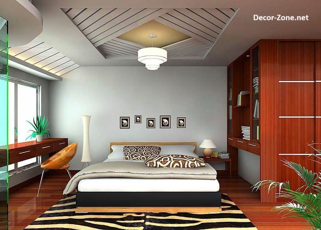 35 bedroom ceiling designs and ideas for Bedroom designs unique