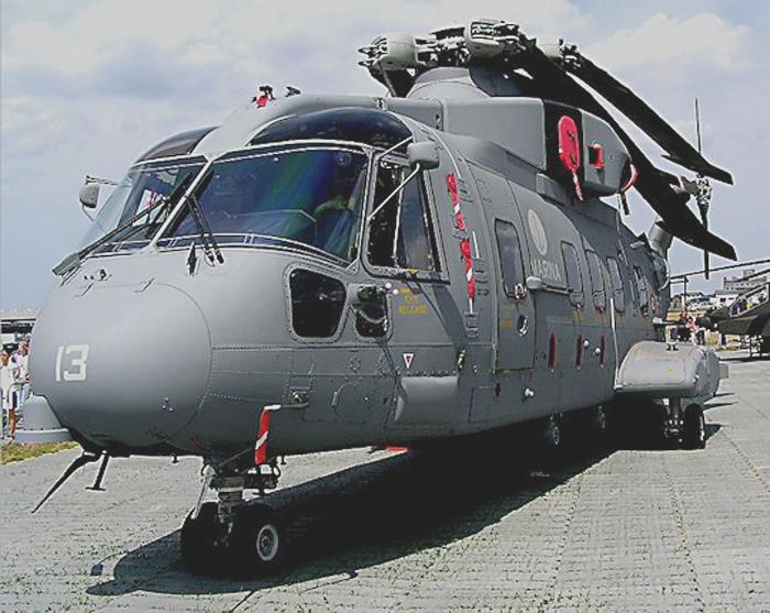 Helikopter AgustaWestland AW-101