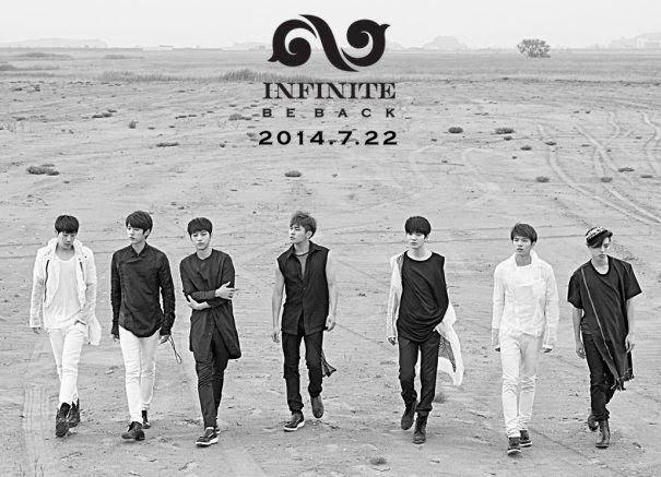 "INFINITE regresará con un álbum repackage titulado ""Be Back"""