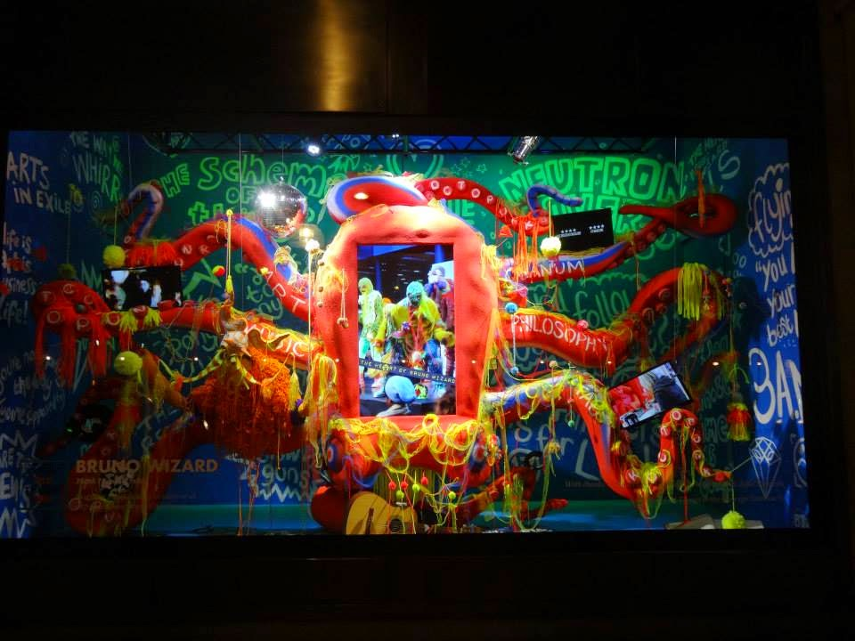 Selfridges Shopwindow Bright Old Things 2015 Bruno Wizard