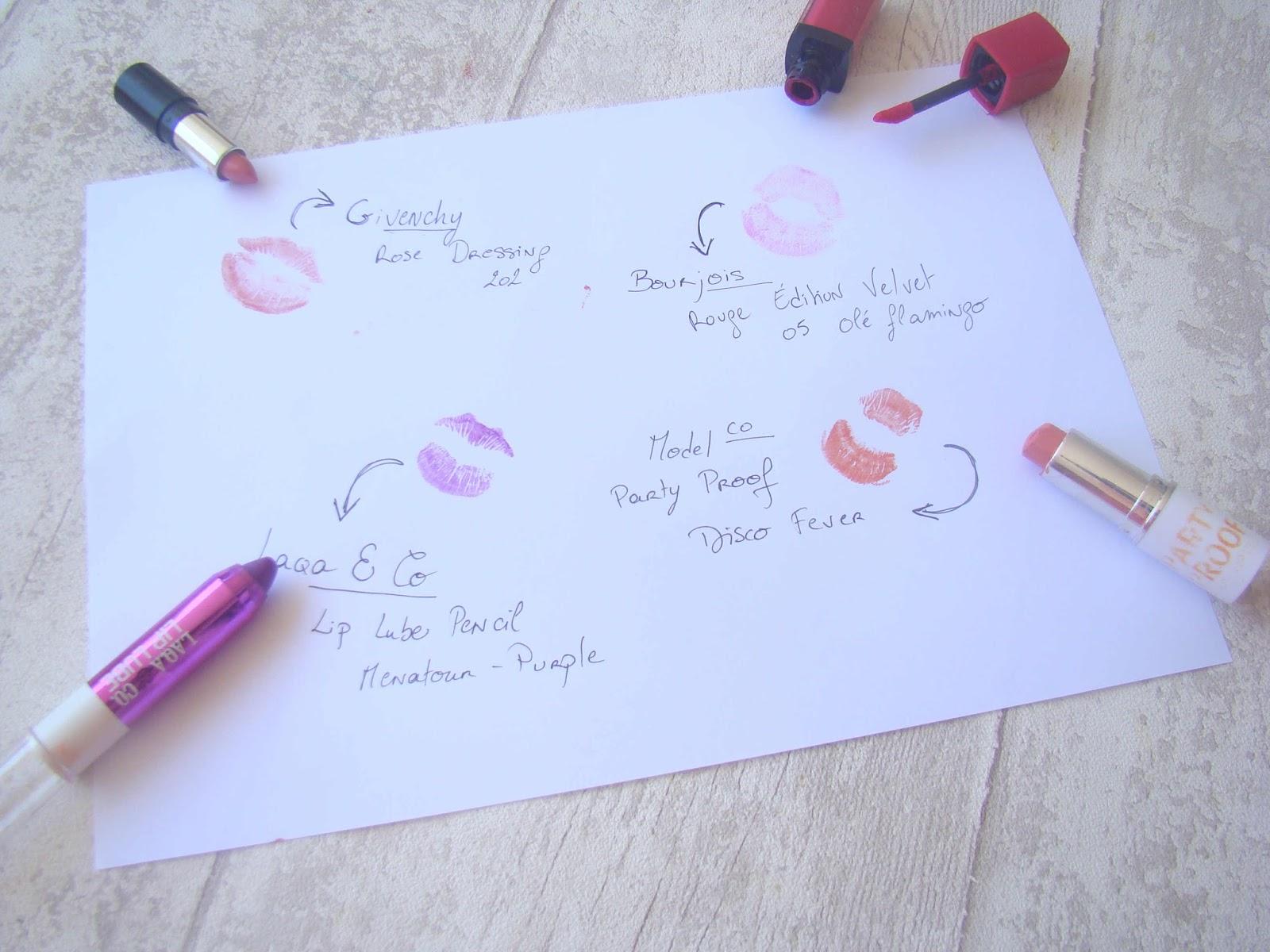 La couleur par les lèvres