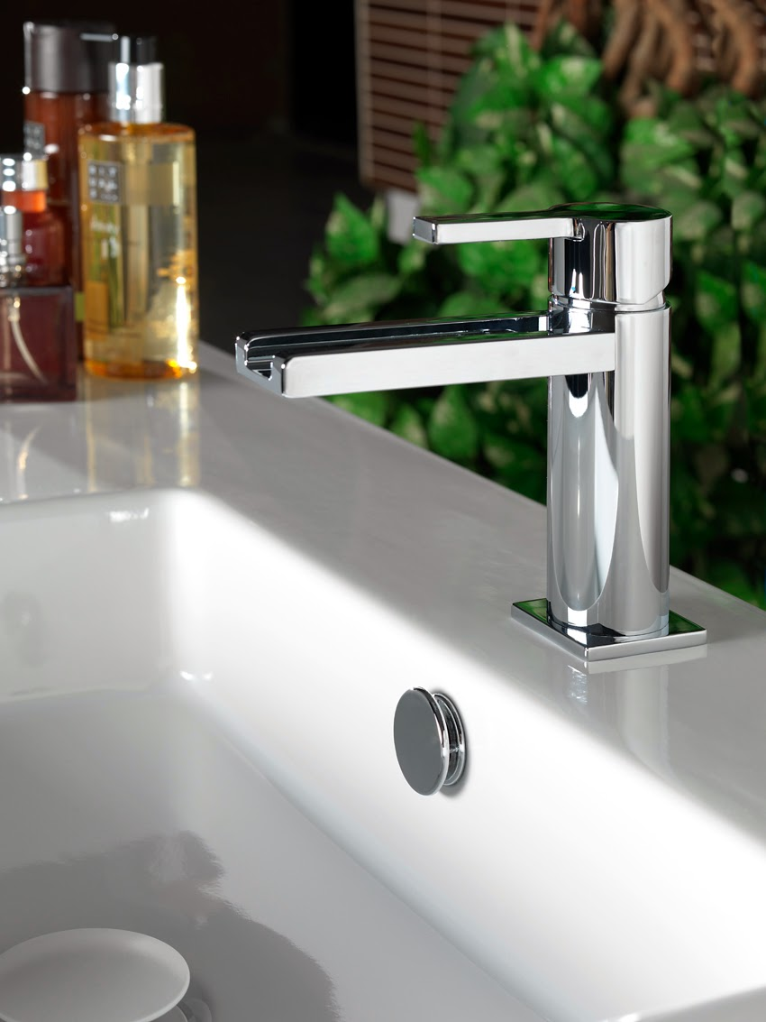 urbanc bathroom taps with light selecting water without any surprises