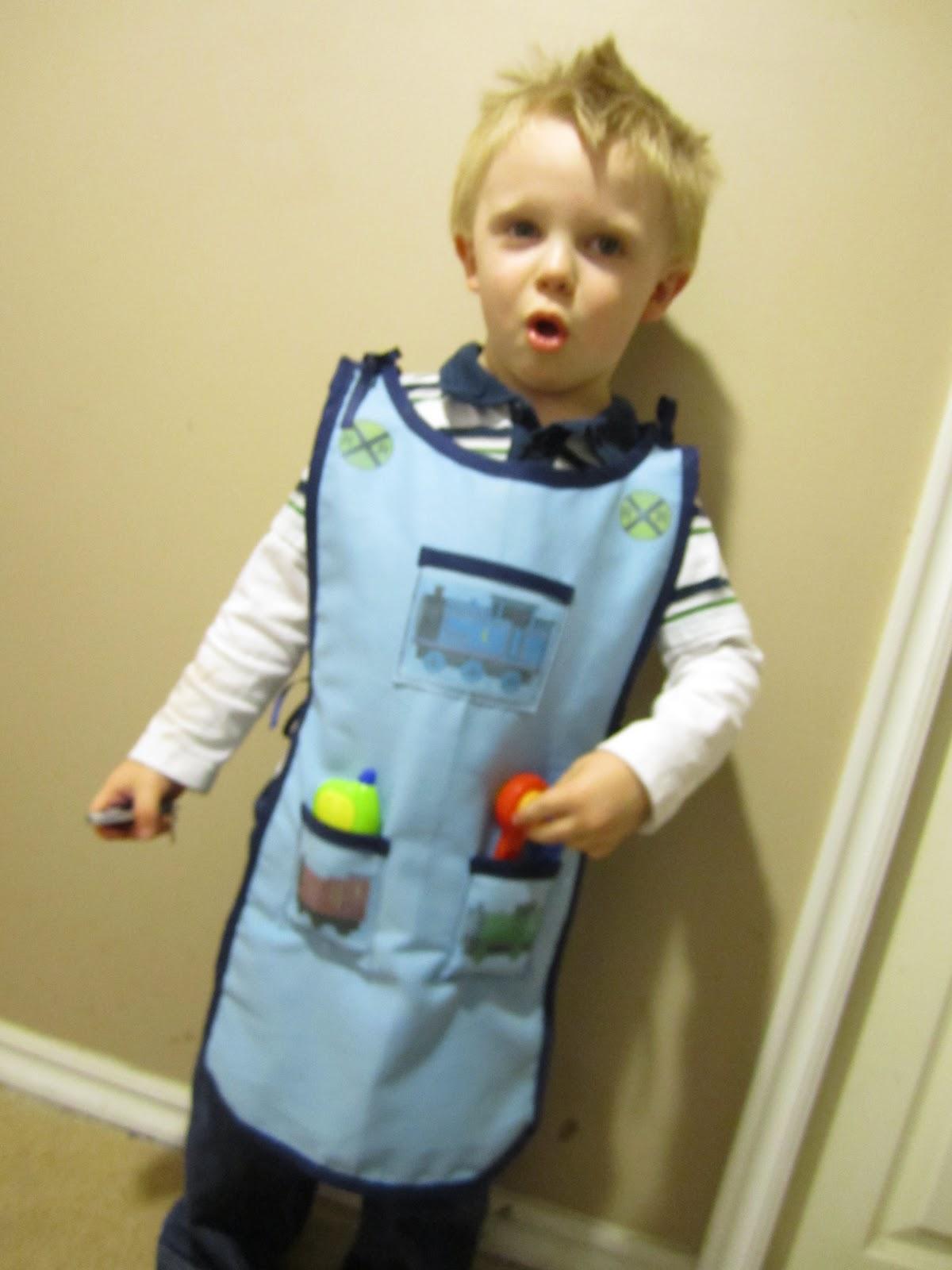 life in the motherhood: halloween costume: train engineer