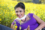 Hari priya photo shoot among yellow folwers-thumbnail-1