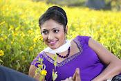 Hari priya photo shoot among yellow folwers-thumbnail-1