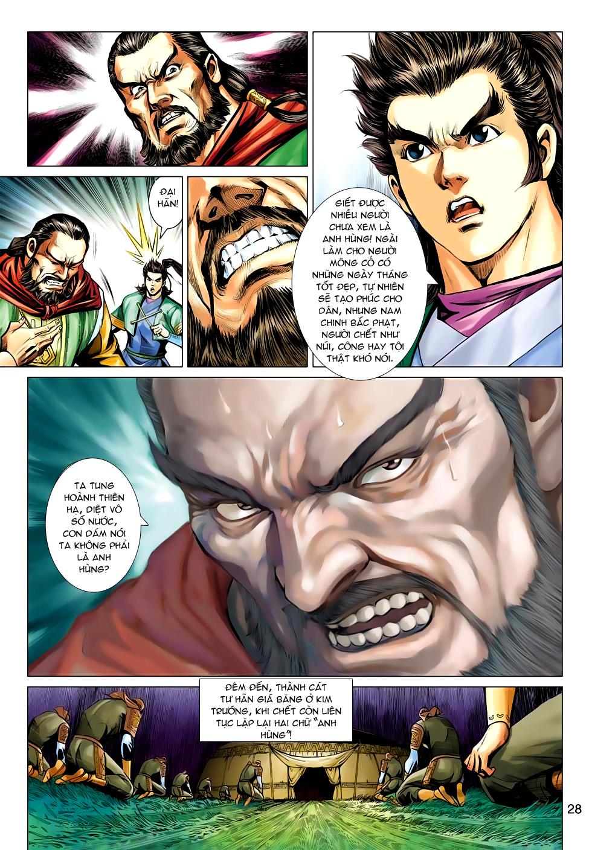 Xạ Điêu Anh Hùng Truyện chap 100 – End Trang 28 - Mangak.info