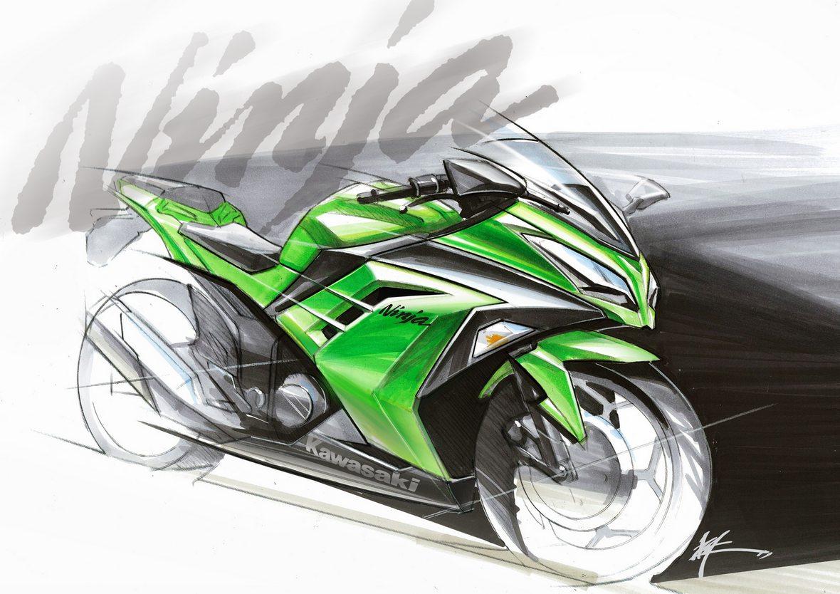 Kawasaki Ninja 300 Art