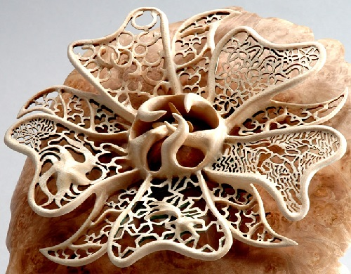 refined wood carving by Joey Richardson