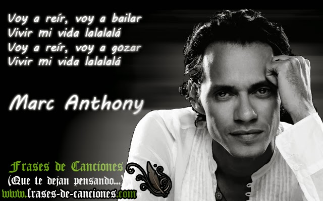 musica y letras de marc anthony: