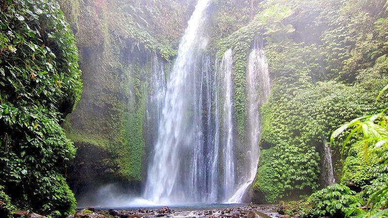desa senaru lombok, tempat wisata di lombok, tujuan wisata di lombok,