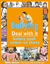 "Book cover: ""Bullying: Deal with it before push comes to shove"""