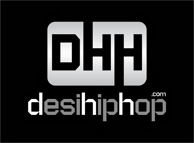 desi hip hop - official logo - smoke effect