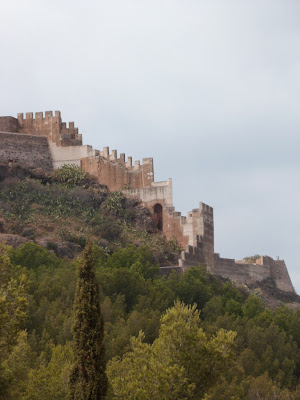 Sagunto's castle / castillo in Spain