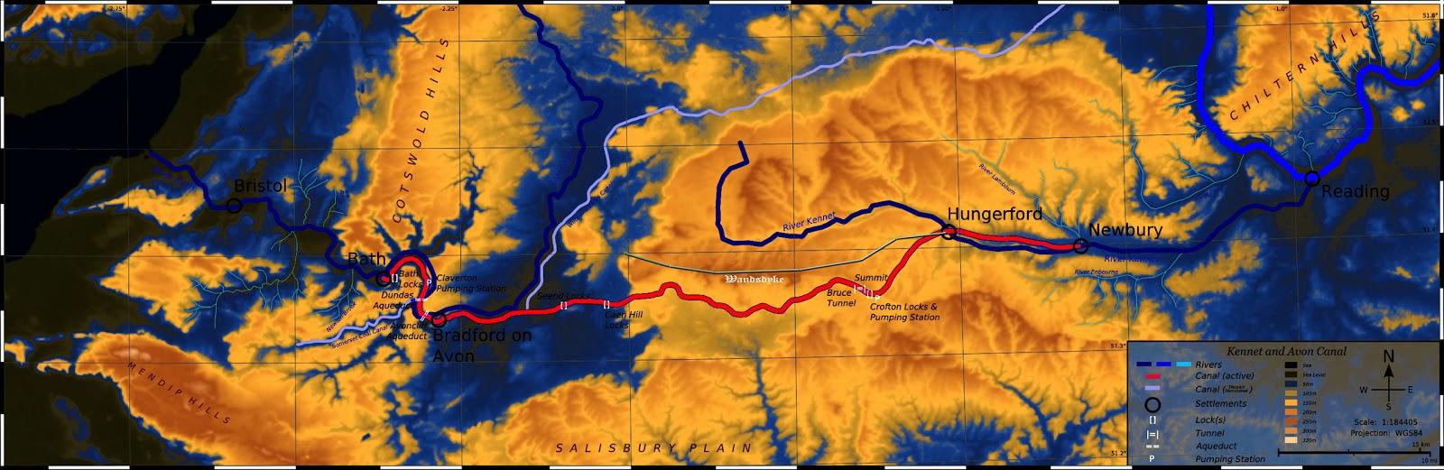 Ancient Wansdyke Map