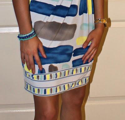 Petite professional in BCBG Dress, Bottega Veneta heels, H&M bracelets, Submariner Rolex