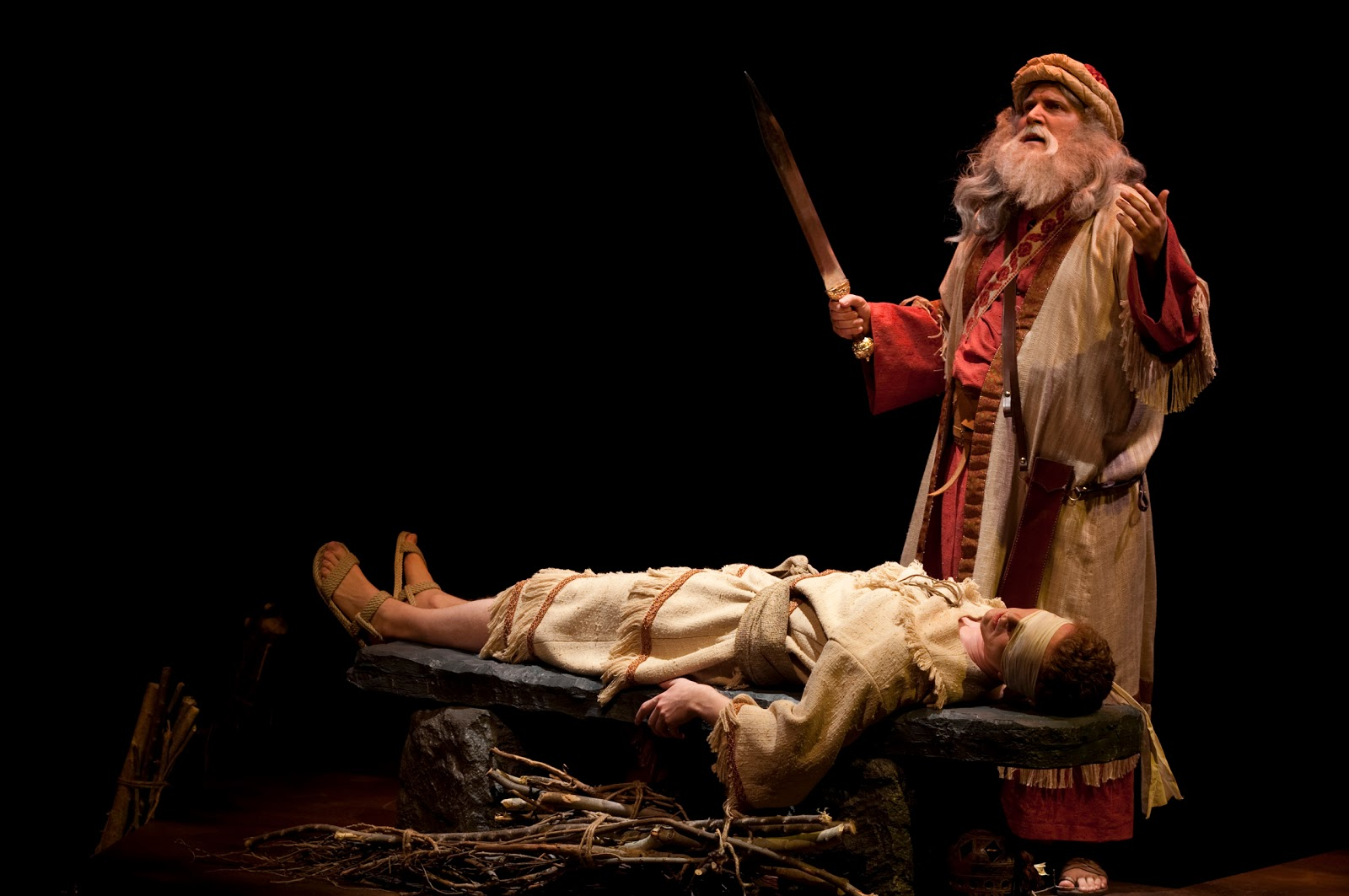 abraham isaac The dramatic story, known in hebrew as the akedah, has perplexed many generations of commentators the binding of isaac, known in hebrew as the akedah, is one of the best known and most troubling stories in the bible in it, god orders abraham to sacrifice his son, isaac, on mount moriah.