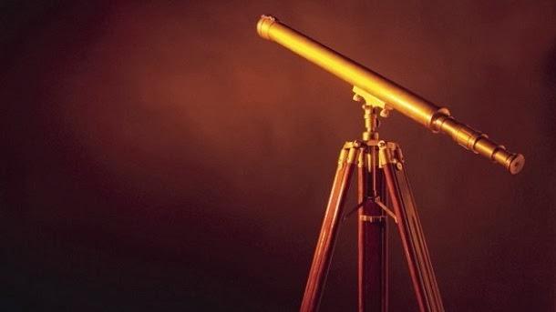 O primeiro telescópio