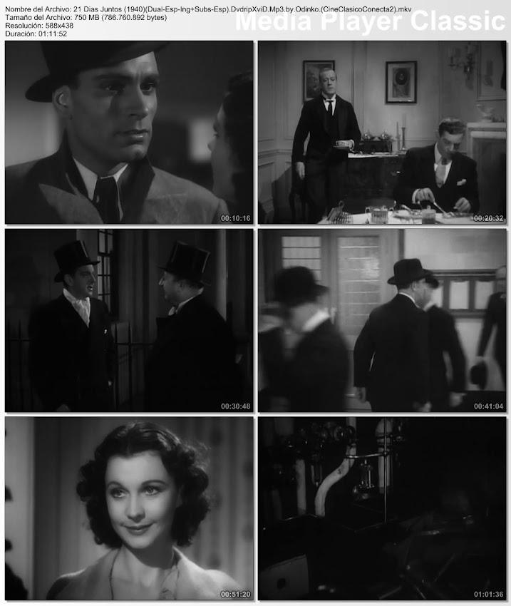 Imagenes de la pelicula: 21 días juntos | 1940 | 21 Days