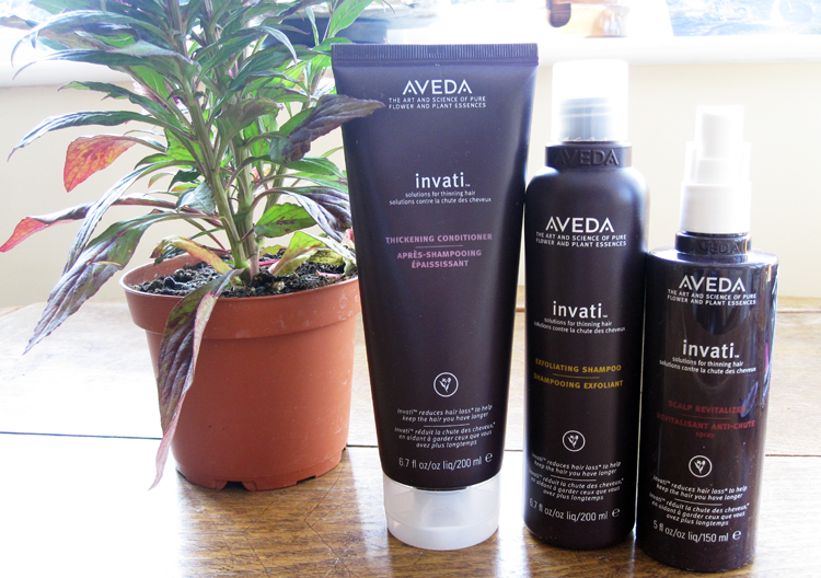 Aveda Invati Exfoliating Shampoo, Thickening Conditioner & Scalp Revitaliser review
