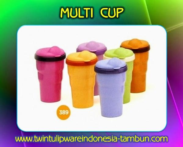 Multi Cup | Produk Tulipware Terbaru 2014