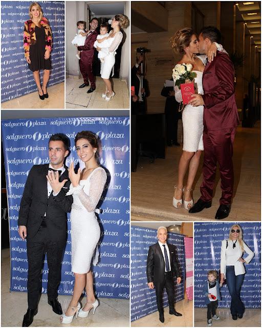 @cinthifernandez y Matías Defederico celebraron su boda
