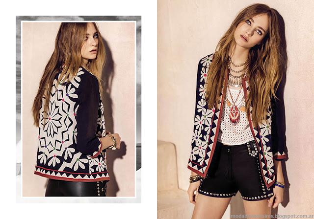 Moda primavera verano 2016 Rapsodia chaquetas.