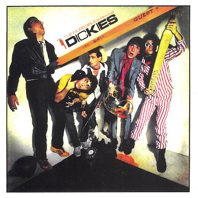 Cover Album of The Dickies - The Incredible Shrinking Dickies (US Punk 1979)
