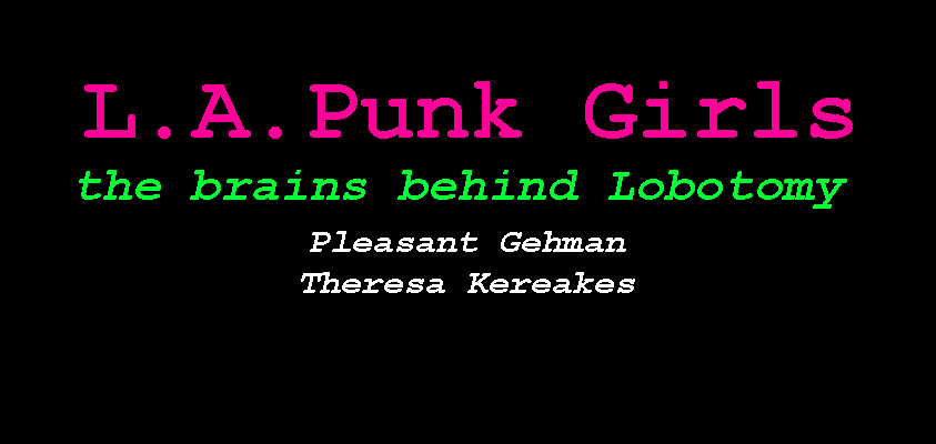 LA PUNK GIRLS