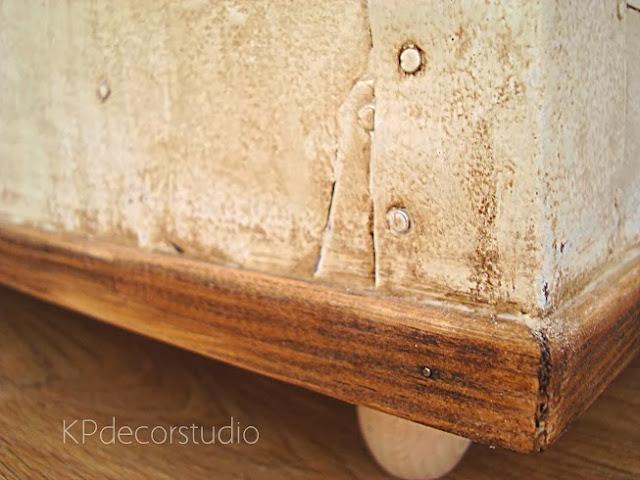 Muebles restaurados, restauración de muebles antiguos, como restaurar baúl vintage