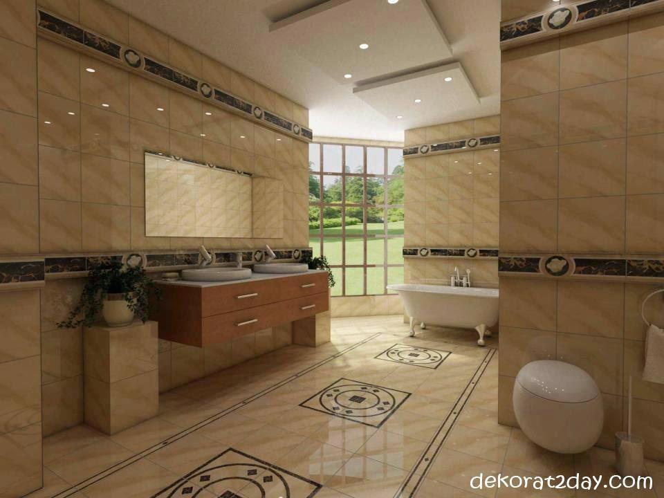اجمل ديكورات اسقف حمامات ومطابخاشيك ديكورات اسقف معلقة للحمامات