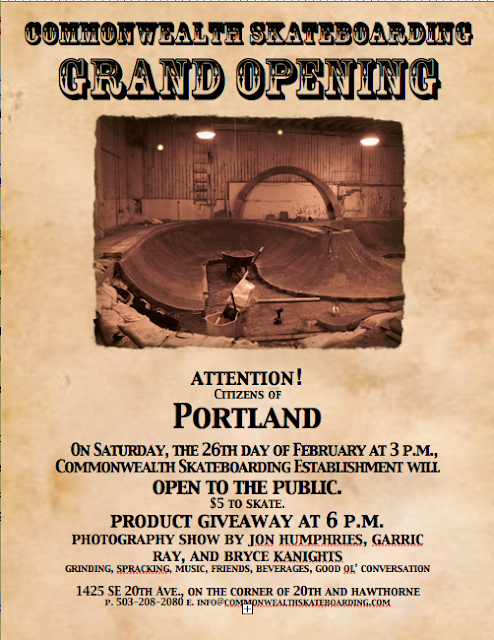 Portland Oregon, Commonwealth Skateboarding, Bryce Kanights