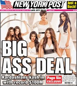 Kardashian's Sign Big $$$ Deal to be Famous for Being Famous
