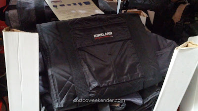 Have your dog lay in comfort on the Kirkland Indoor/Outdoor Pet Travel Throw and Seat Protector