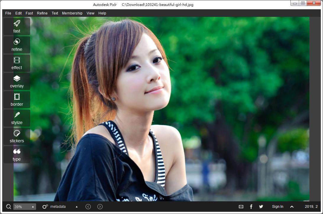 修圖軟體 Pixlr 電腦版下載:Autodesk Pixlr Portable 免安裝版