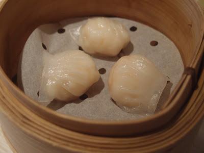 白玉鲜虾饺