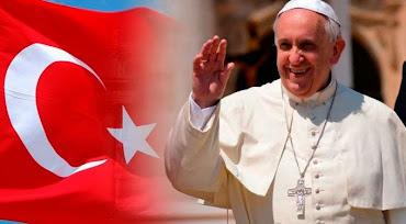 Papa Francisco viaja a Turquia