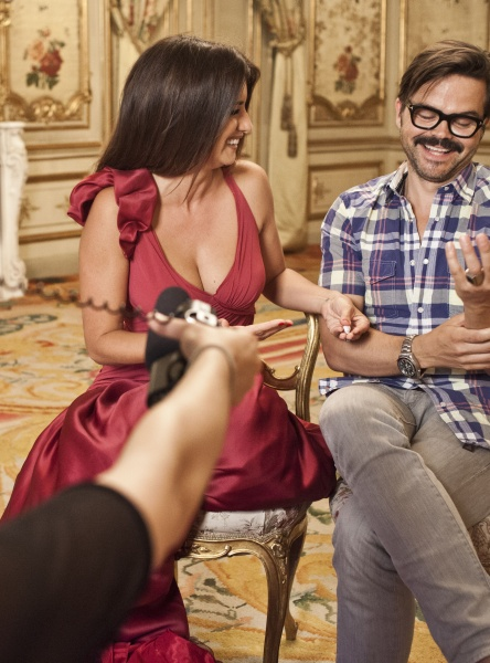 Penelope Cruz Sizzles for 2013 Campari Calendar Shoot 