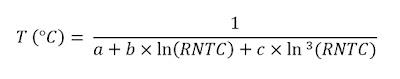 equação de Steinhart & Hart