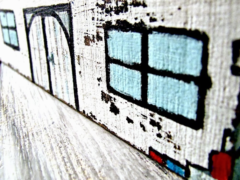domki z drewna czyli co można wyczarować z kawałków drewna? Dekoracja w stylu eco.