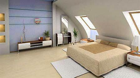Tips Membangun Kamar Tidur Di Loteng Rumah Minimalis Sederhana