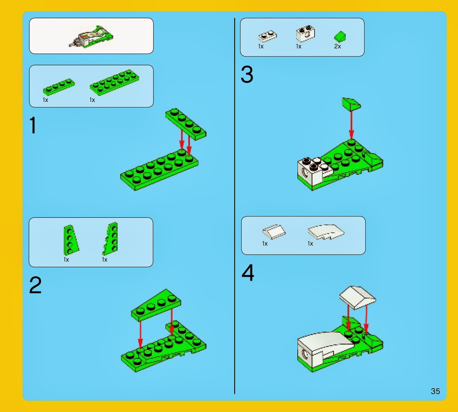 Techfleet Spot Lego Movie Kragle Build Instructions