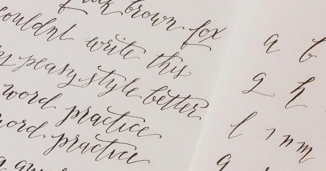 Il castello di zucchero esercizi di calligrafia risorse dal web - Diversi caratteri di scrittura ...
