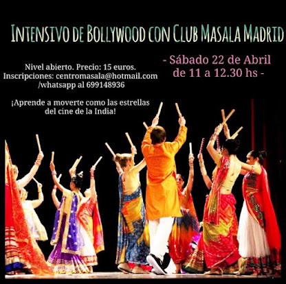 Intensivos Abril con Club Masala Madrid