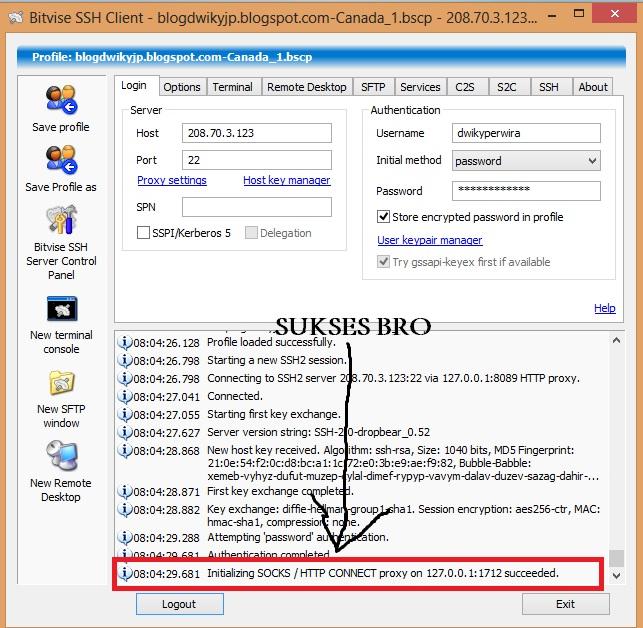 Tutorial Internet Gratis Lengkap Dengan SSH (TRIK)