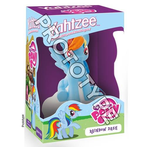 MLP Rainbow Dash Yahtzee Game Prototype Image